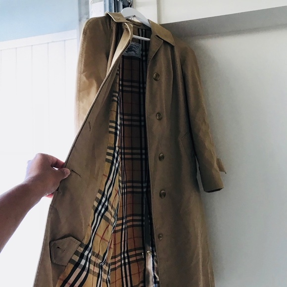 Burberry Woman's Tan Trench Coat by Burberry